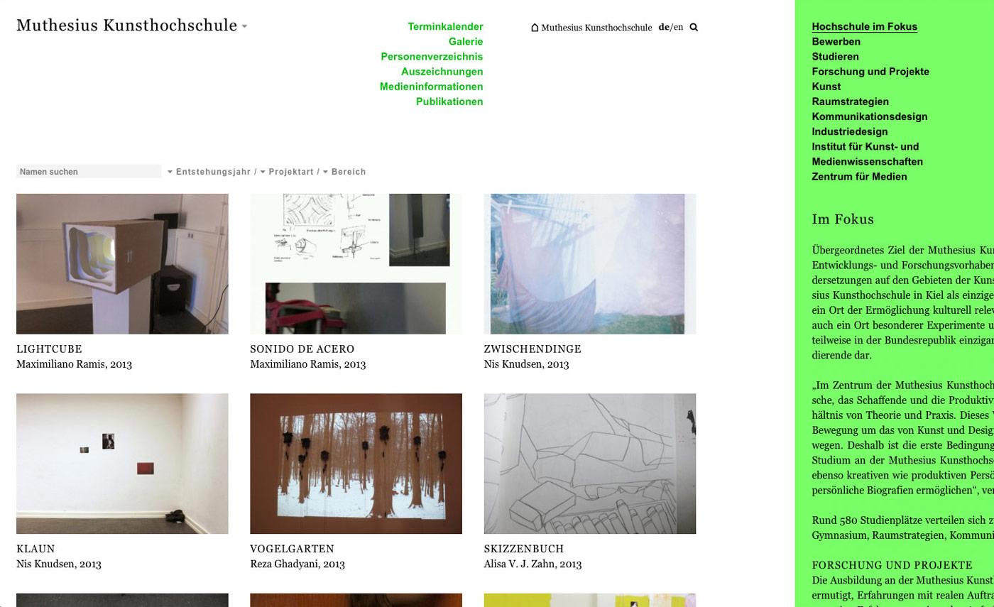 Muthesius Kunsthochschule