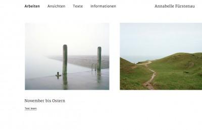 Annabelle Fürstenau Website