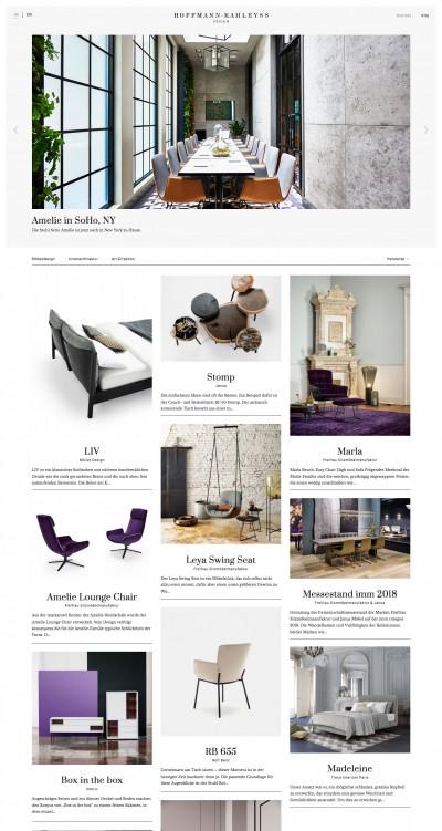 Hoffmann Kahleyss Design Website