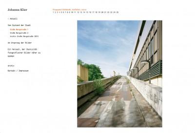 Johanna Klier Website